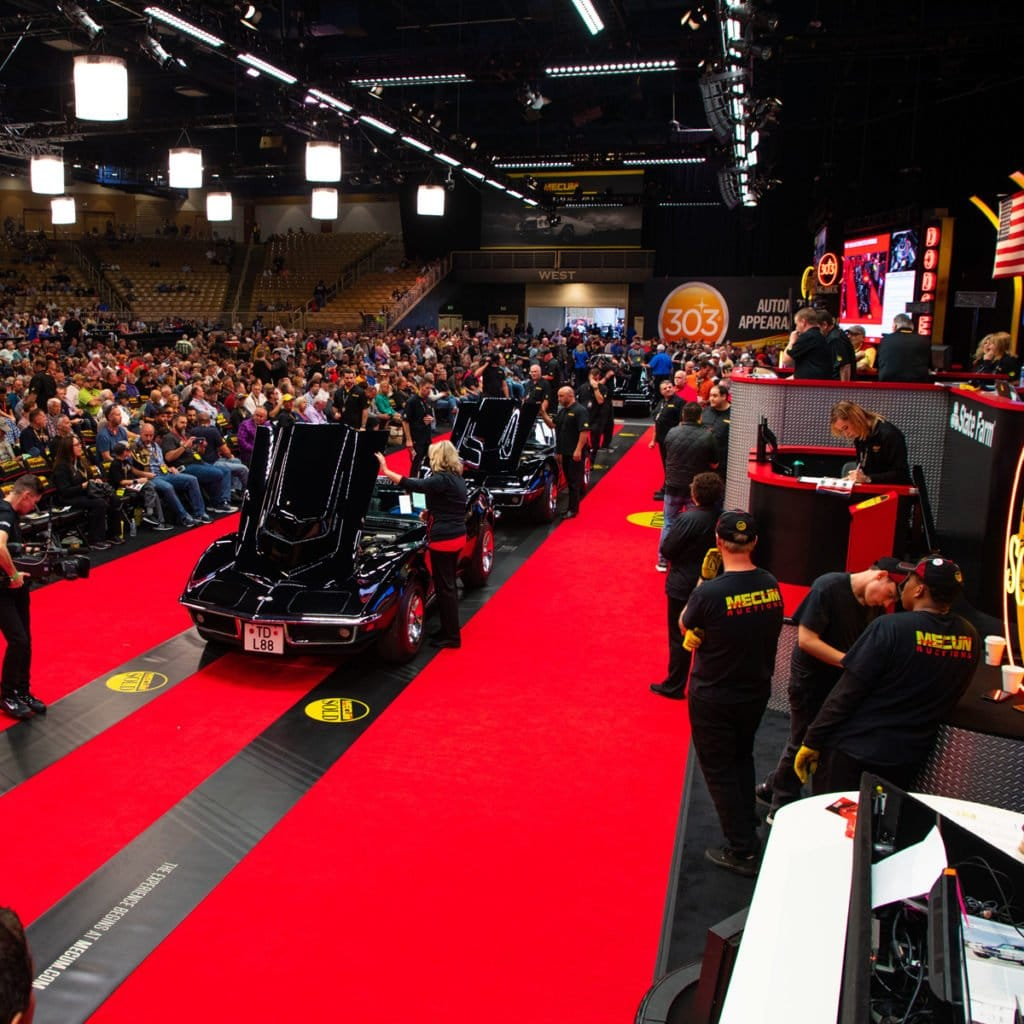 2019 Mecum Kissimmee Corvette Auction Results