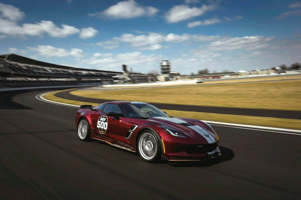 The 2019 Corvette Grand Sport will serve as the Official Pace Car for the 2019 Indianapolis 500