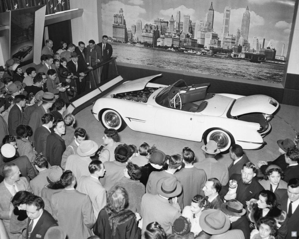 1953 Chevrolet Corvette Motorama Show Car.