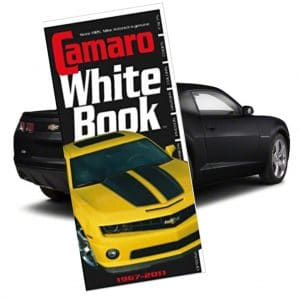 Camaro White Book 1967-2011 - By Mike Antonick