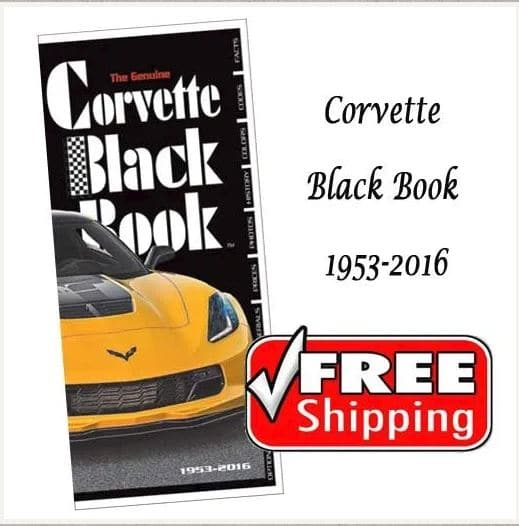 Corvette Black Book 1952-2016
