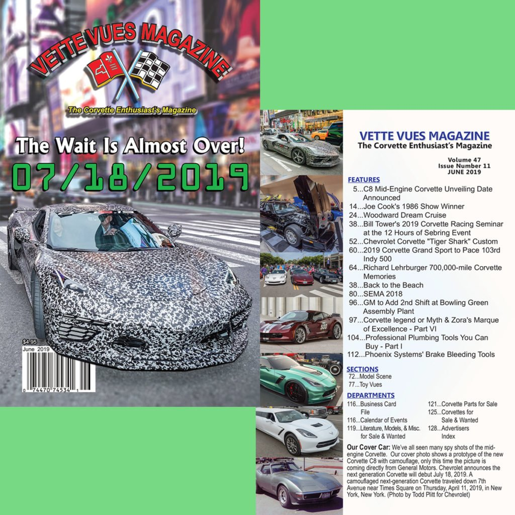June 2019 Issue Vette Vues Magazine