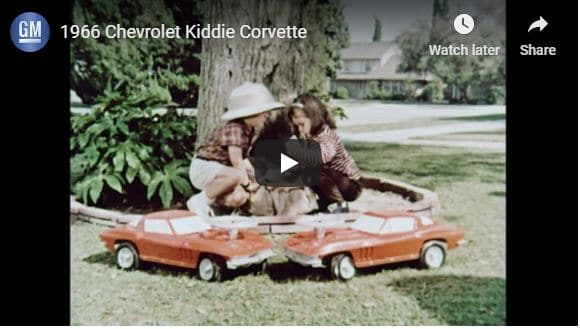 1966 Kiddie Corvette Video and Information