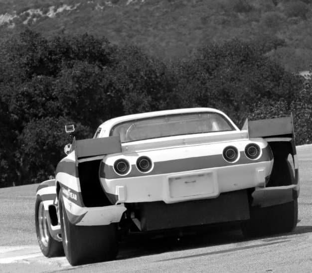 Greenwood Race Car 1975 Laguna IMSA Race