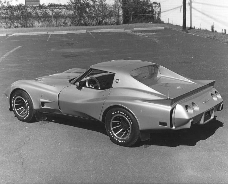 The early Greenwood/GM widebody panels gave a hint as to some of the truly wild customs we would see today. Pictured here is a 1977 Greenwood Turbo GT Hatchback Prototype.