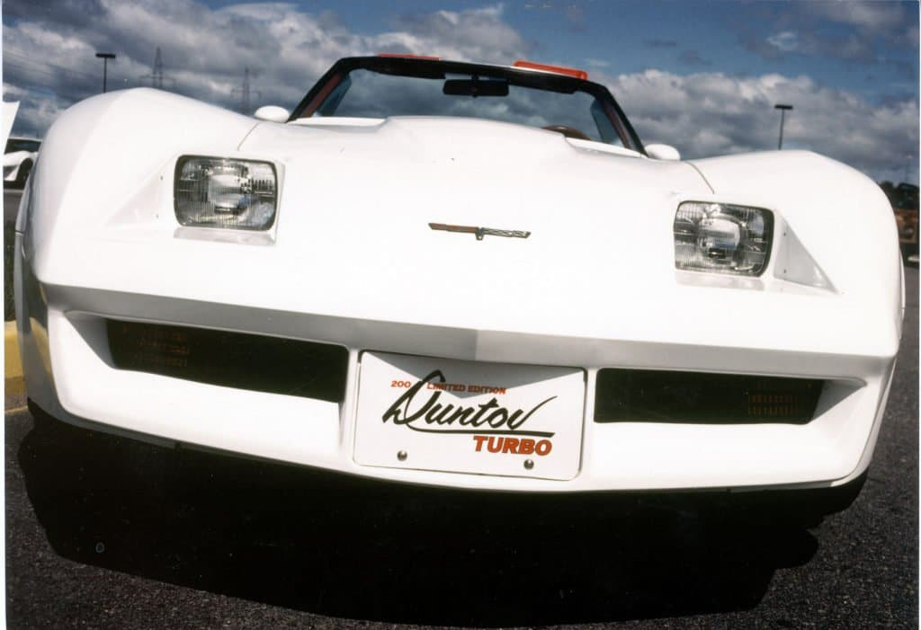 Duntov Turbo C3 Corvette Front Closeup