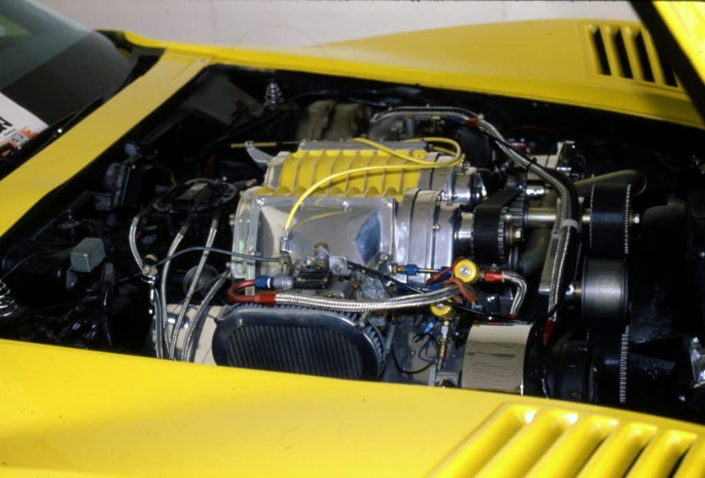 Eckler Daytona Corvette Engine Compartment
