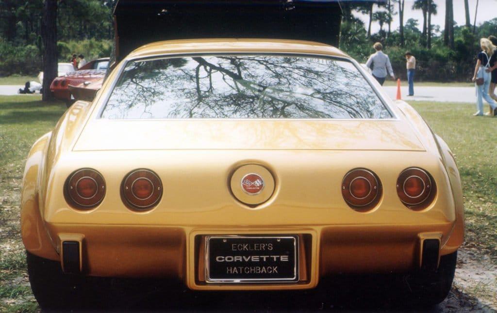 Eckler's Hatchback Corvette Rear Photo