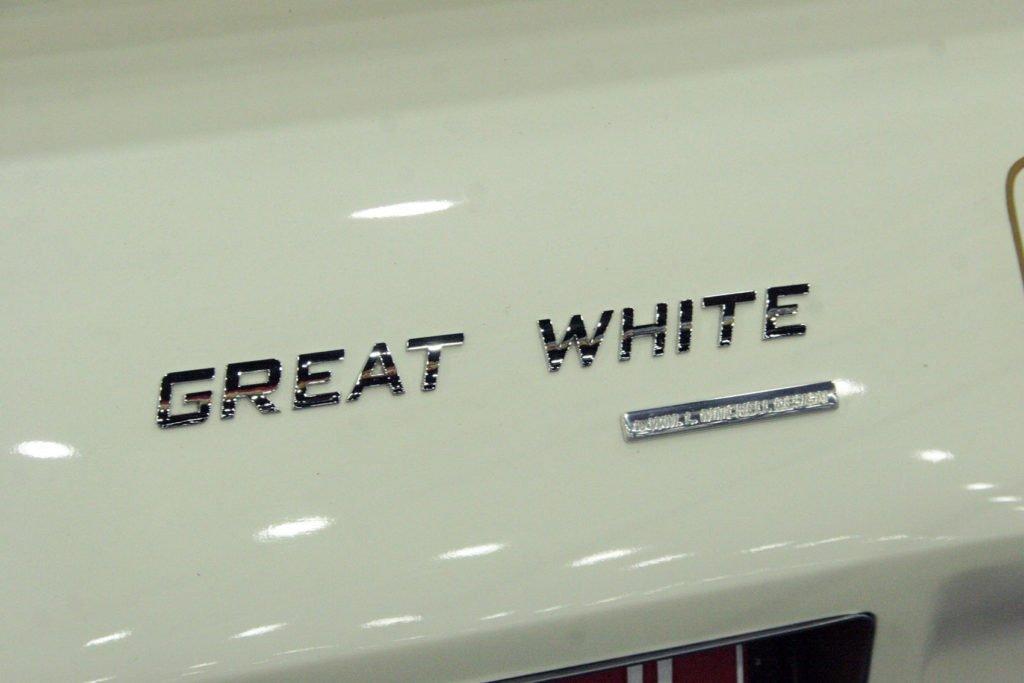 "Bill Mitchell's 1976 Corvette Concept ""Great White"" Badging"