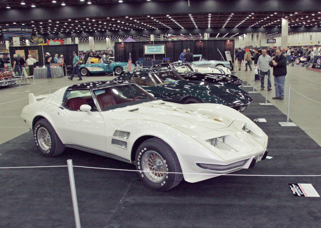 The Great White by Bill Mitchell is similar to many other designs of the era . . . Mulsanne and Scirocco spring to mind.