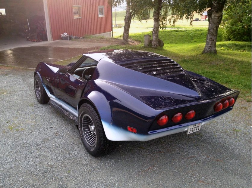 This Corvette is the Mako style and is in Sweden.