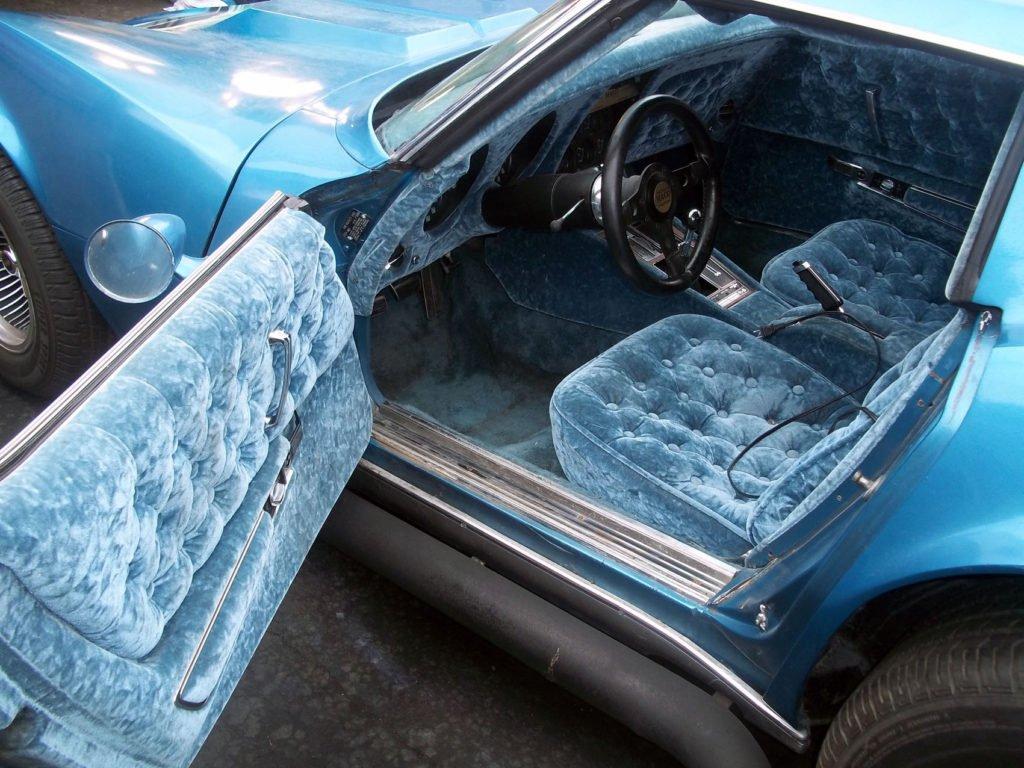 Interior of a Corvette Mako Style by Silva