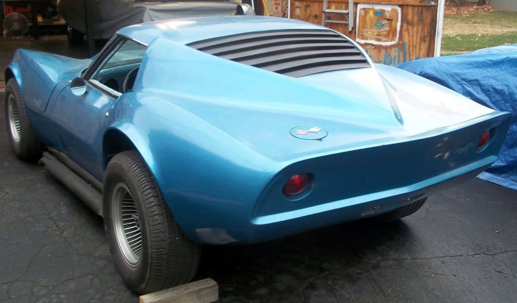 Rear of a Corvette Mako Style by Silva