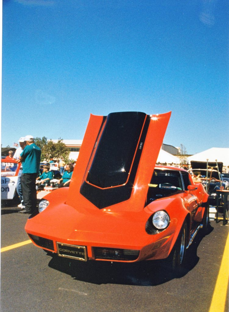 Chevrolet Corvette Motion Manta Ray GT Front