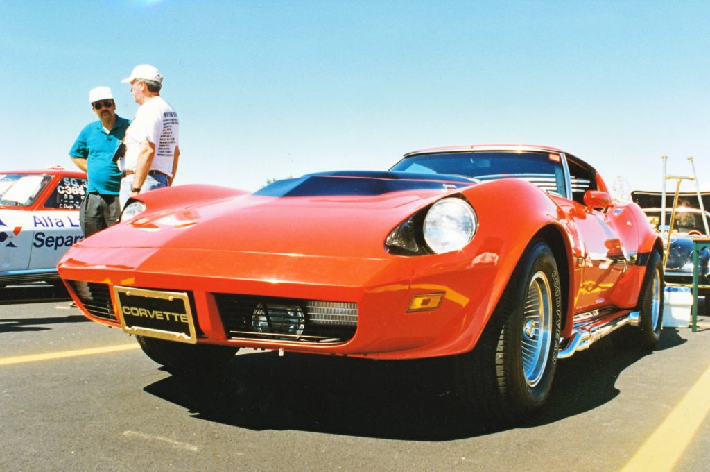Front of the Corvette Motion Manta Ray GT