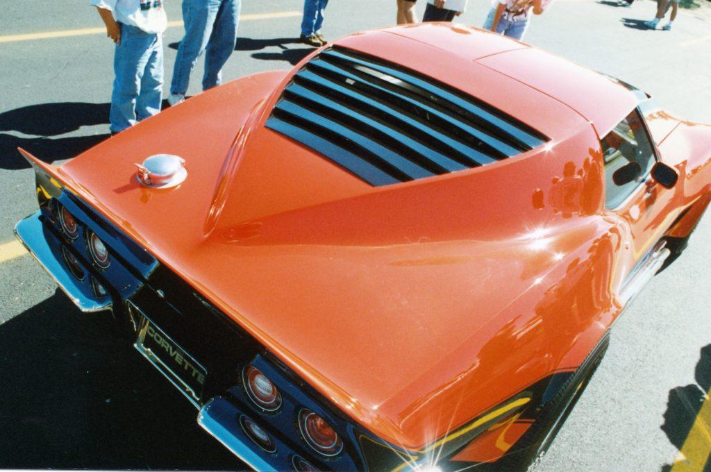 Rear of Corvette Motion Manta Ray GT