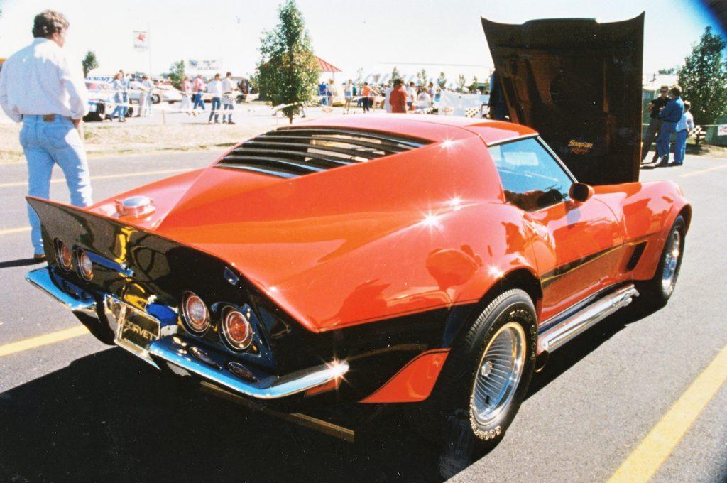 Corvette Motion Manta Ray GT Rear