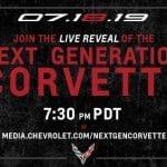 C8 Corvette Reveal to Stream Live