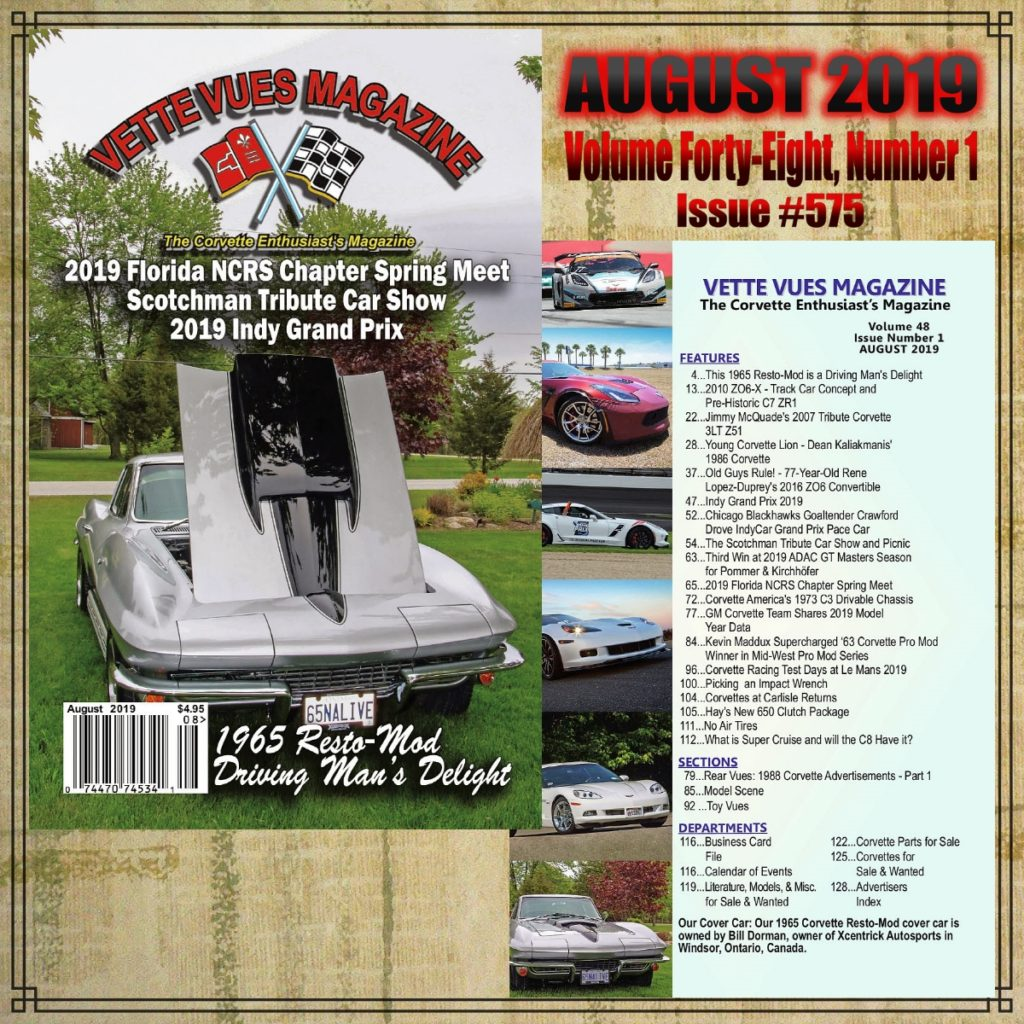 August 2019 Issue Vette Vues Magazie