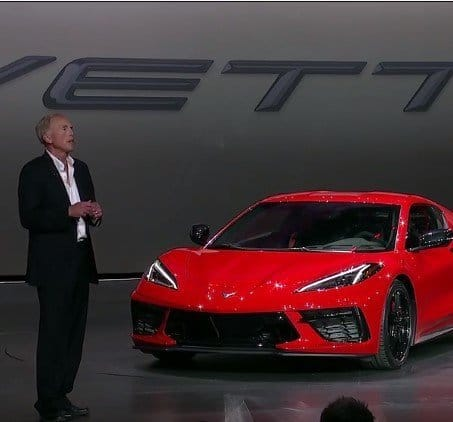 Video of Tadge Juechter, Outlining Mission for 2020 Corvette Stingray