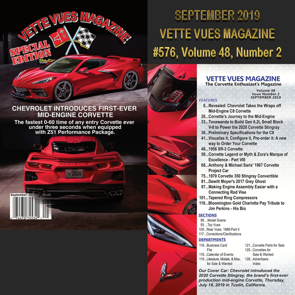 September 2019 Issue Vette Vues Magazine