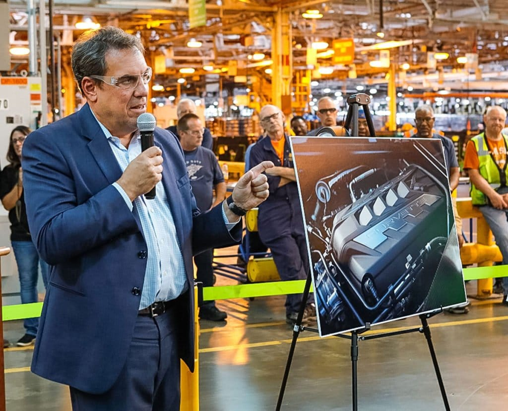 Mark Reuss, GM president visited the Tonawanda Plant to meet with employees and community leaders.