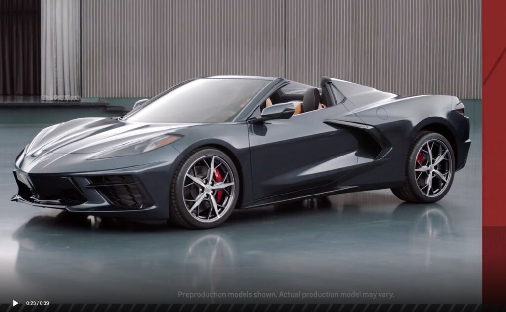 C8 Corvette Convertible and C8.R Race Car Expected This Fall