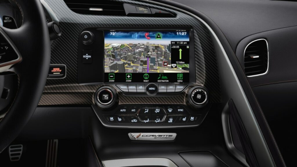 An interior that includes real carbon fiber, aluminum and hand-wrapped leather materials, two new seat choices – each featuring a lightweight magnesium frame for exceptional support – and dual eight-inch configurable driver/infotainment screens
