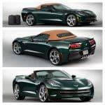 2014 Corvette Stingray Premiere Edition Convertible Lime Rock Green