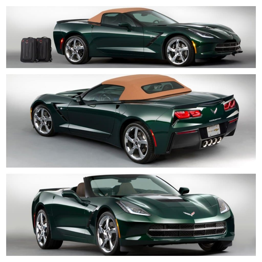 Chevrolet announces Corvette Stingray Premiere Edition Convertible
