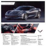 2014 Chevrolet Corvette Stingray Coupe Advertising Card