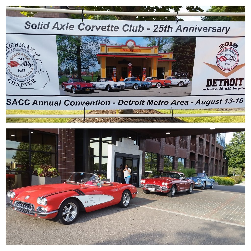 Solid Axle Corvette Club 25th Anniversary – 2019 Convention