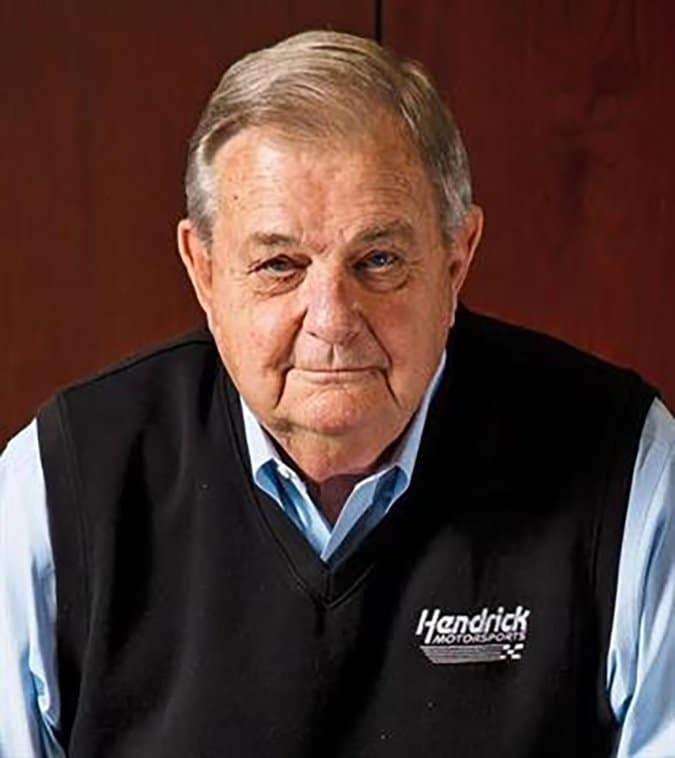 After Jim Perkins retired from Chevrolet he had five job opportunities. He decided to join Rick Hendrick in July 1996.