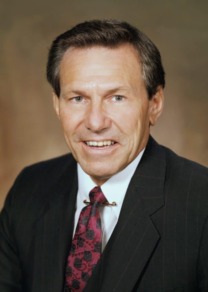 Lloyd E. Reuss, GM president, August 1, 1990 - April 6, 1992.