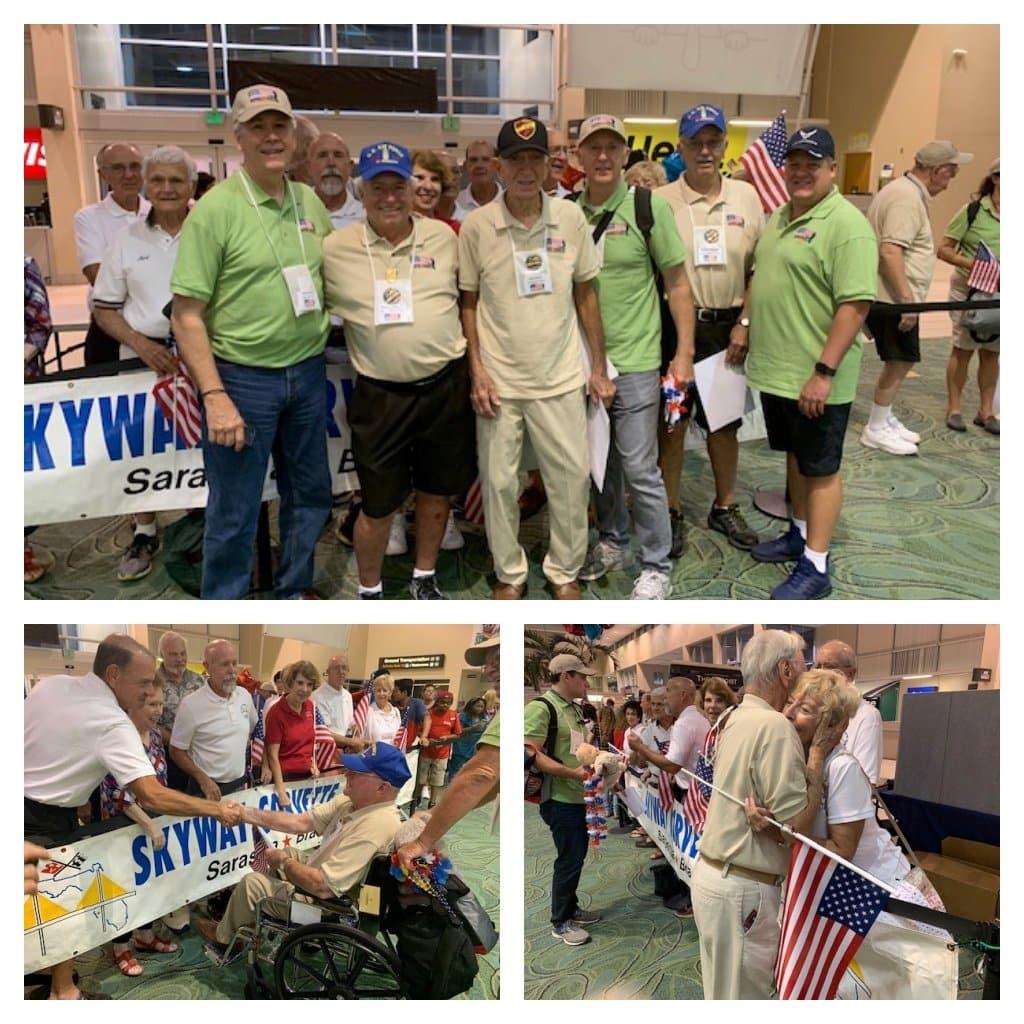 Skyway Corvette Club and the Honor Flight Program
