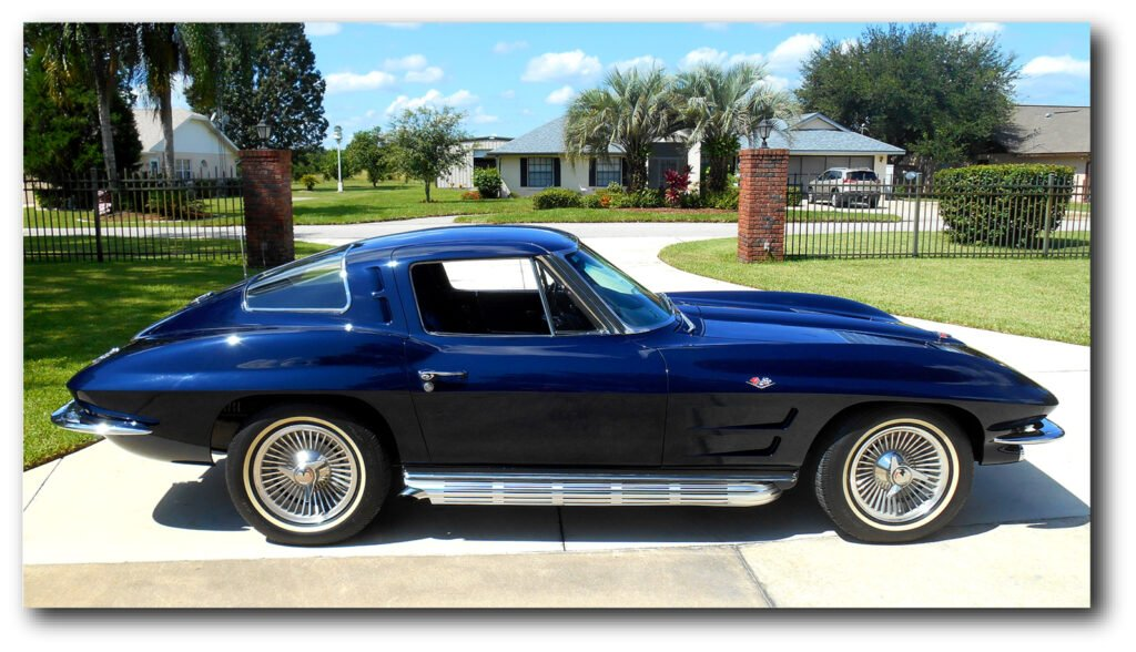 Rollie Walriven took delivery of his brand new, Daytona Blue 1963 Corvette Coupe in November 1962