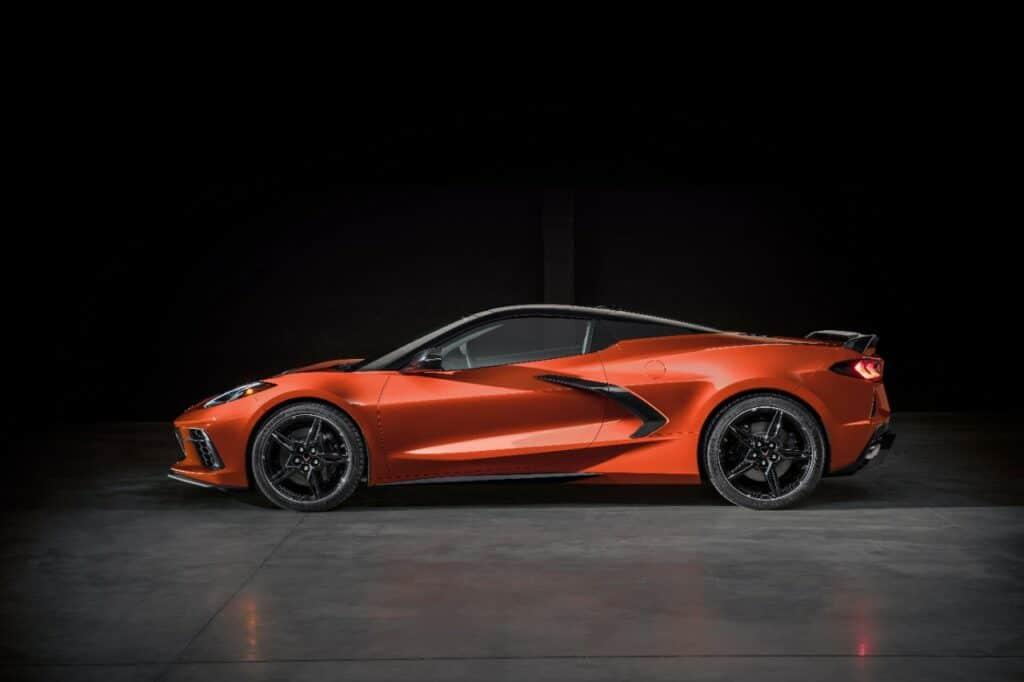 2020 Corvette Stingray Convertible Top Up