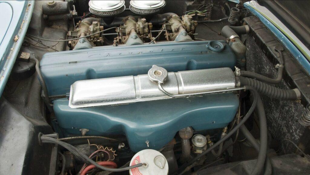 1954 Bubble Top Corvette engine.