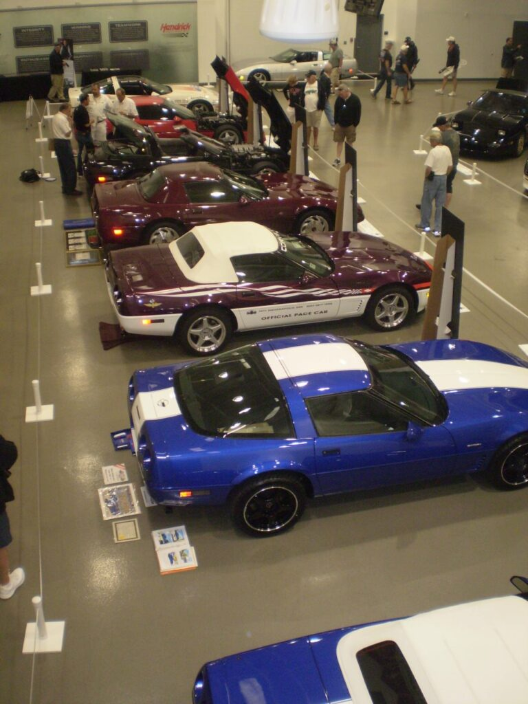 Some of the Corvettes in the Gold Collection at the 4th Bloomington Gold Charlotte 2019