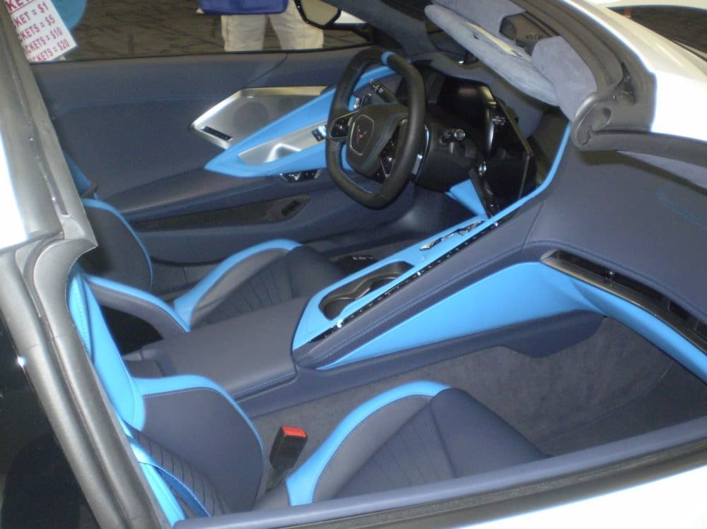 2020 C8 Corvette with  Tension w/ Twilight Blue Dipped interior at 4th Bloomington Gold Charlotte 2019.