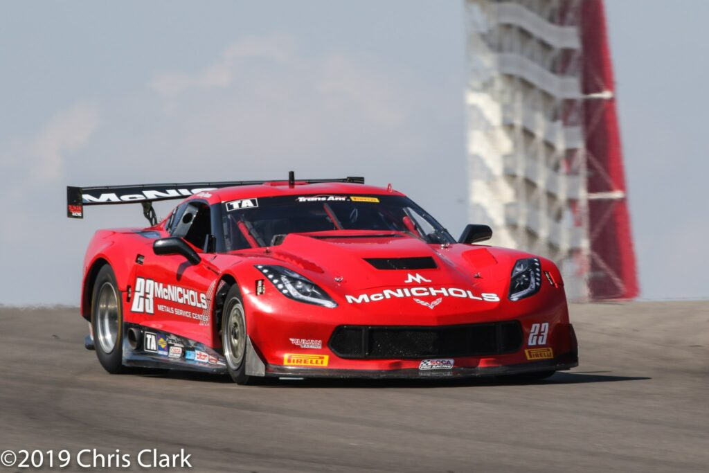 # 23 Amy Ruman is on her way to 3rd place in the 2019 championship standings by finishing 5th in the Trans Am at the Circuit of Americas