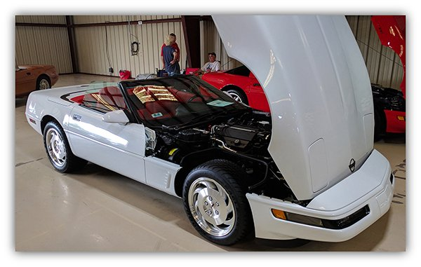 Ed's Corvette pal, Jack Exter, told him about the National Corvette Restorers Society (NCRS), and that the NCSR Florida Winter Regional Meet in Kissimmee, Florida and was to be held on January 2012.
