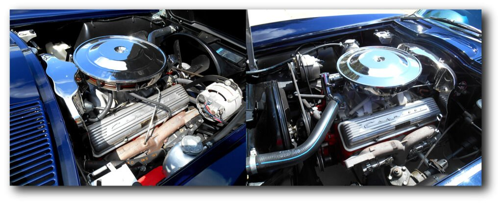 Our 1963 Corvette Coupe Feature has the L76 327/340 engine with a 4-speed.