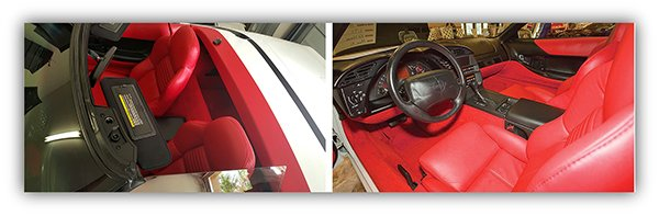 Ed Nieves 1995 Corvette Interior