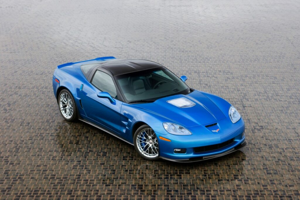 Chevrolet has completed the restoration of the first car damaged in the sinkhole at the National Corvette Museum. The 2009 Corvette ZR1 was one of two show cars used to introduce the all-new Corvette ZR1 in January 2008, and the car was on loan from Chevrolet to the National Corvette Museum when the sinkhole developed