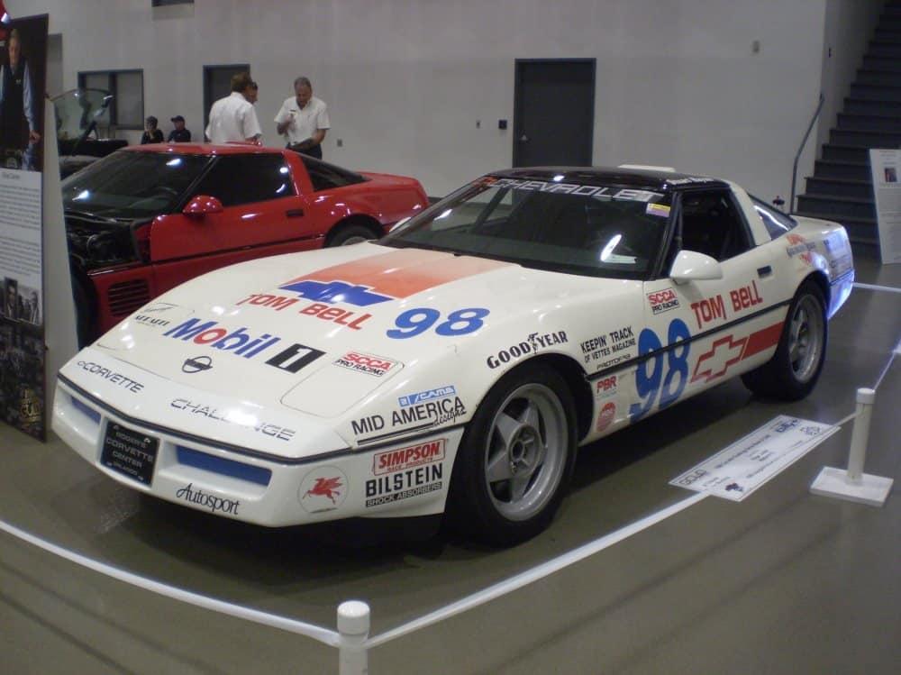 The 1988 Corvette Challenge Series Champion, owned by Roger Judski