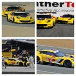 Still chasing that 100th win, the C7.R Corvettes saw their chances evaporate at Laguna Seca in their next to final outing in the IMSA WeatherTech Sports Car Series. Photos courtesy of Brian Mayfield & Jim Rij.