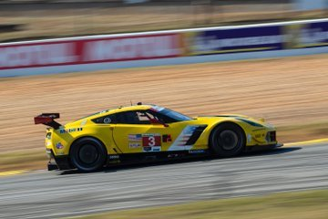 Antonio Garcia qualified the No. 3 Mobil 1/SiriusXM Chevrolet Corvette C7.R second Friday in the IMSA WeatherTech SportsCar Championship's top production based class Friday. He set a time of 1:15.702 (120.789 mph) in the car that he shares with full-season teammate Jan Magnussen and Mike Rockenfeller. However, the No. 3 Corvette was found to be out of compliance in post-qualifying inspection and will be moved to the back of the GTLM field.