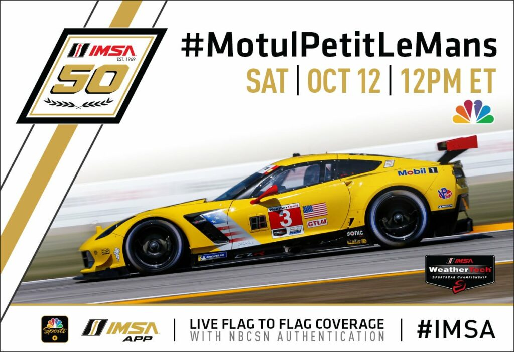 While at the Petit Le Mans on Saturday, October 12, 2019, the C7.R Era was completed.