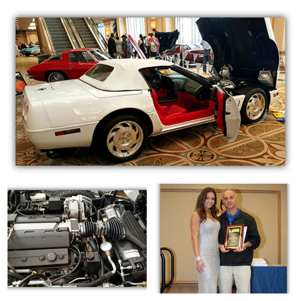 Ed Nieves' Tri-Power, Top Flight, Bloomington Gold, and Triple Diamond 1995 Corvette